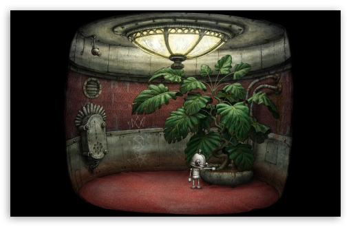Elevator, Machinarium Game HD wallpaper for Standard 4:3 5:4 Fullscreen UXGA XGA SVGA QSXGA SXGA ; Wide 16:10 5:3 Widescreen WHXGA WQXGA WUXGA WXGA WGA ; HD 16:9 High Definition WQHD QWXGA 1080p 900p 720p QHD nHD ; Other 3:2 DVGA HVGA HQVGA devices ( Apple PowerBook G4 iPhone 4 3G 3GS iPod Touch ) ; Mobile VGA WVGA iPhone iPad PSP Phone - VGA QVGA Smartphone ( PocketPC GPS iPod Zune BlackBerry HTC Samsung LG Nokia Eten Asus ) WVGA WQVGA Smartphone ( HTC Samsung Sony Ericsson LG Vertu MIO ) HVGA Smartphone ( Apple iPhone iPod BlackBerry HTC Samsung Nokia ) Sony PSP Zune HD Zen ;