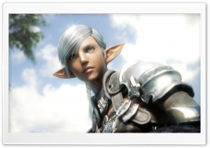 Elezen, Final Fantasy XIV HD Wide Wallpaper for Widescreen