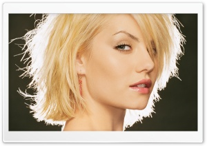 Elisha Cuthbert Short Hair HD Wide Wallpaper for Widescreen