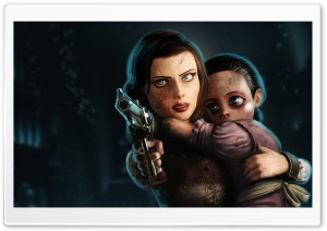 Elizabeth Bioshock Infinite Burial At Sea HD Wide Wallpaper for Widescreen