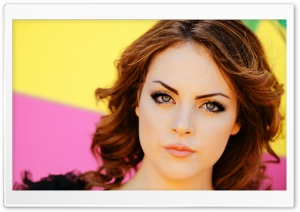 Elizabeth Gillies HD Wide Wallpaper for Widescreen