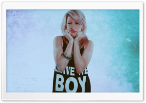 Ellie Goulding - Leave The Boy Alone HD Wide Wallpaper for Widescreen
