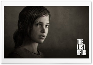 Ellie The Last of Us HD Wide Wallpaper for Widescreen