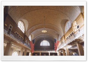 Ellis Island HD Wide Wallpaper for Widescreen