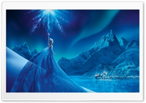 Elsa - Frozen HD Wide Wallpaper for 4K UHD Widescreen desktop & smartphone