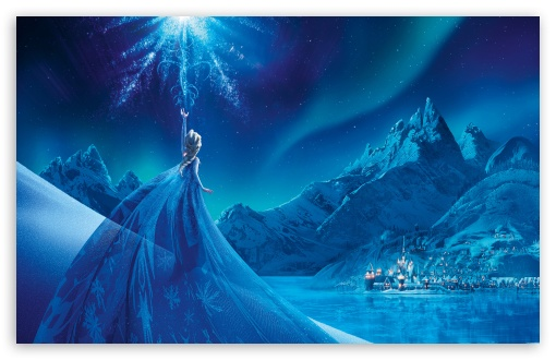 Elsa Frozen Ultra Hd Desktop Background Wallpaper For 4k