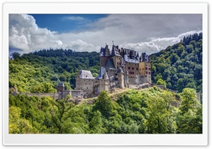Eltz Castle, Germany HD Wide Wallpaper for 4K UHD Widescreen desktop & smartphone