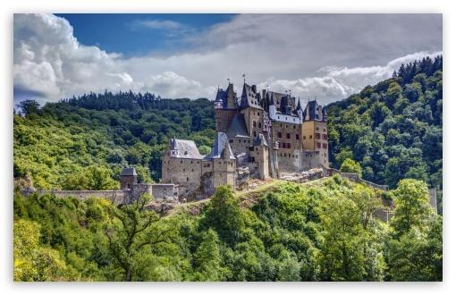 Download Eltz Castle, Germany HD Wallpaper