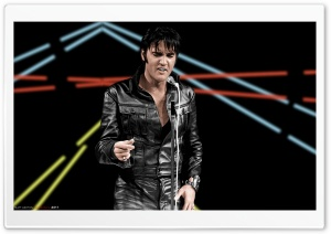 Elvis 68 Special HD Wide Wallpaper for Widescreen