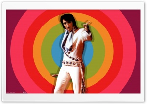 Elvis Now - 1971 HD Wide Wallpaper for 4K UHD Widescreen desktop & smartphone