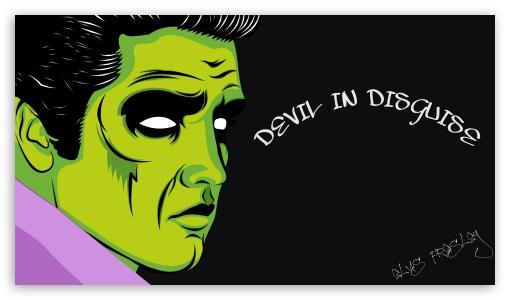 Elvis Presley Devil ❤ 4K UHD Wallpaper for 4K UHD 16:9 Ultra High Definition 2160p 1440p 1080p 900p 720p ; iPad 1/2/Mini ; Mobile 4:3 5:3 3:2 16:9 - UXGA XGA SVGA WGA DVGA HVGA HQVGA ( Apple PowerBook G4 iPhone 4 3G 3GS iPod Touch ) 2160p 1440p 1080p 900p 720p ;
