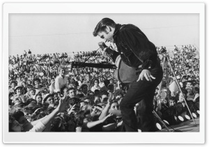 Elvis Presley In Concert HD Wide Wallpaper for 4K UHD Widescreen desktop & smartphone