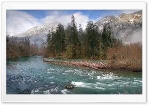 Elwha River Olympic National Park HD Wide Wallpaper for 4K UHD Widescreen desktop & smartphone