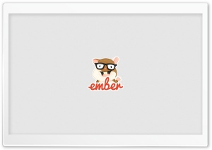 Ember.js HD Wide Wallpaper for Widescreen