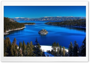 Emerald Bay HD Wide Wallpaper for Widescreen