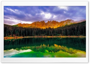 Emerald Lake Dreamscape HD Wide Wallpaper for Widescreen