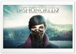 Emily Dishonored 2 HD Wide Wallpaper for Widescreen