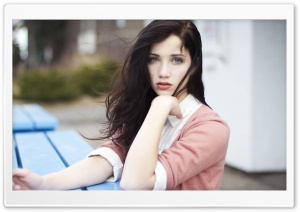 Emily Rudd HD Wide Wallpaper for Widescreen