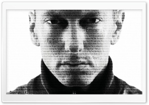Eminem - Rap God HD Wide Wallpaper for 4K UHD Widescreen desktop & smartphone