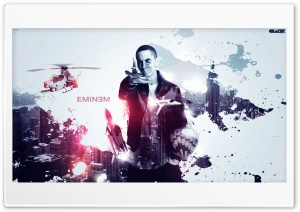 EMINEM HD Ultra HD Wallpaper for 4K UHD Widescreen desktop, tablet & smartphone