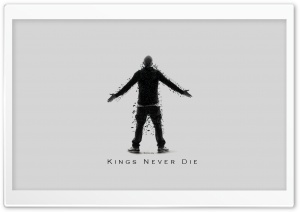 Eminem Kings Never Die HD Wide Wallpaper for Widescreen