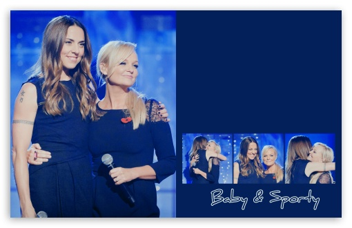 Emma Bunton and Melanie Chisholm HD wallpaper for Wide 16:10 5:3 Widescreen WHXGA WQXGA WUXGA WXGA WGA ; Mobile 5:3 - WGA ;