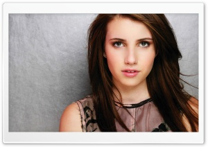 Emma Roberts Portrait HD Wide Wallpaper for Widescreen
