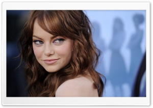 Emma Stone HD Wide Wallpaper for Widescreen