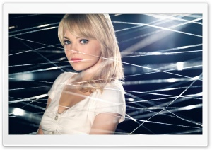Emma Stone As Gwen Stacy HD Wide Wallpaper for Widescreen