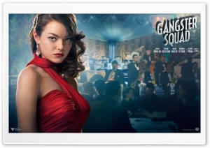 Emma Stone in Gangster Squad HD Wide Wallpaper for Widescreen