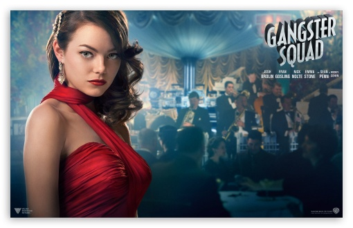 Emma Stone in Gangster Squad HD wallpaper for Wide 16:10 Widescreen WHXGA WQXGA WUXGA WXGA ; HD 16:9 High Definition WQHD QWXGA 1080p 900p 720p QHD nHD ; Standard 4:3 5:4 Fullscreen UXGA XGA SVGA QSXGA SXGA ; Tablet 1:1 ; iPad 1/2/Mini ; Mobile 4:3 5:3 3:2 5:4 - UXGA XGA SVGA WGA DVGA HVGA HQVGA devices ( Apple PowerBook G4 iPhone 4 3G 3GS iPod Touch ) QSXGA SXGA ;