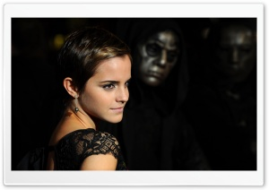 Emma Watson - Harry Potter And The Deathly Hallows Premiere HD Wide Wallpaper for Widescreen