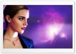 Emma Watson in Lancome HD Wide Wallpaper for Widescreen