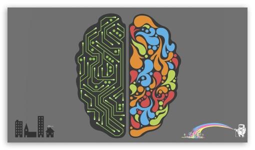 Emotional and Rational Brain UltraHD Wallpaper for 8K UHD TV 16:9 Ultra High Definition 2160p 1440p 1080p 900p 720p ; iPad 1/2/Mini ; Mobile 4:3 16:9 - UXGA XGA SVGA 2160p 1440p 1080p 900p 720p ;