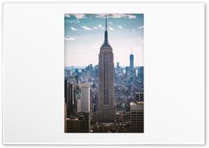 Empire State Building, New York Ultra HD Wallpaper for 4K UHD Widescreen desktop, tablet & smartphone