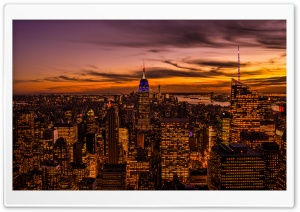 Empire State Building, New York City HD Wide Wallpaper for Widescreen