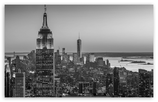 Empire State Building, New York City -Monochrome HD wallpaper for Wide 16:10 5:3 Widescreen WHXGA WQXGA WUXGA WXGA WGA ; HD 16:9 High Definition WQHD QWXGA 1080p 900p 720p QHD nHD ; UHD 16:9 WQHD QWXGA 1080p 900p 720p QHD nHD ; Standard 4:3 5:4 3:2 Fullscreen UXGA XGA SVGA QSXGA SXGA DVGA HVGA HQVGA devices ( Apple PowerBook G4 iPhone 4 3G 3GS iPod Touch ) ; Smartphone 5:3 WGA ; Tablet 1:1 ; iPad 1/2/Mini ; Mobile 4:3 5:3 3:2 16:9 5:4 - UXGA XGA SVGA WGA DVGA HVGA HQVGA devices ( Apple PowerBook G4 iPhone 4 3G 3GS iPod Touch ) WQHD QWXGA 1080p 900p 720p QHD nHD QSXGA SXGA ;