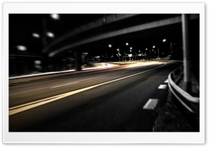 Empty Highway HD Wide Wallpaper for Widescreen