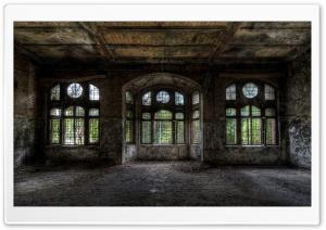 Empty Room In Old Building Ultra HD Wallpaper for 4K UHD Widescreen desktop, tablet & smartphone