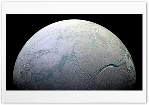 Enceladus HD Wide Wallpaper for 4K UHD Widescreen desktop & smartphone