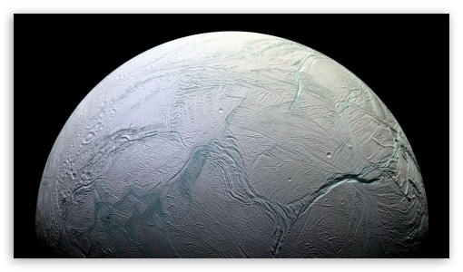 Enceladus HD wallpaper for HD 16:9 High Definition WQHD QWXGA 1080p 900p 720p QHD nHD ; Mobile 16:9 - WQHD QWXGA 1080p 900p 720p QHD nHD ;