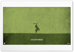 Enchantress - DotA 2 HD Wide Wallpaper for Widescreen