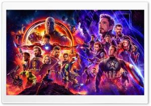 Endgame v Infinity War HD Wide Wallpaper for 4K UHD Widescreen desktop & smartphone