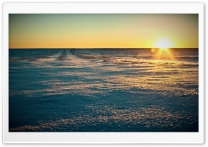 Endless Field, Winter HD Wide Wallpaper for Widescreen