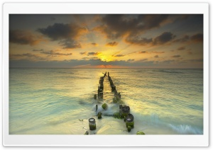 Endless View to Sea HD Wide Wallpaper for Widescreen