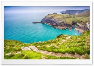 England Coast Path Ultra HD Wallpaper for 4K UHD Widescreen desktop, tablet & smartphone