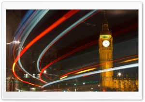 England, London, Big Ben HD Wide Wallpaper for Widescreen