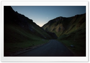 England Mountain Road HD Wide Wallpaper for Widescreen