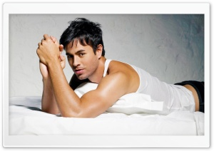 Enrique Iglesias Hot HD Wide Wallpaper for Widescreen