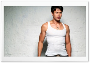 Enrique Iglesias Shot 3 HD Wide Wallpaper for Widescreen